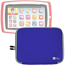 Custodia In Neoprene Blu per Tablet Lisciani Giochi Mio Tab Laptop Evolution HD, Special Edition - 57474   Carotina Baby Tab - 43170   Carotina Mio Tab Preschool 3.0 - 46065 - Resistente All'Acqua - DURAGADGET