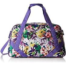 Desigual BOLS_L BAG G, Bolsa de Medio Lado para Mujer, Morado (3168 Purple Opulence), 13x34x45 cm (B x H x T)