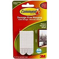 Command 17201 - Fascette adesive per quadri, 4 pz.
