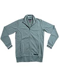 Everlast chaqueta hombre Full Cremallera 22m200F05Jersey Gris (Grey Melange), gris, 3XL