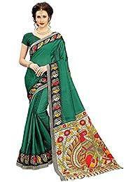 Sarees For Women Sarees New Collection Sarees For Women Latest Design Khadi Silk Printed Saree Bhagalpuri Printed...