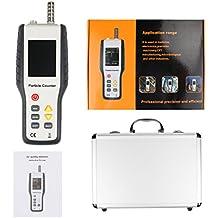 Topker Hti HT-9600 Detector de alta sensibilidad PM2.5 Contador de partículas Monitor de partículas de calidad de aire para el polvo de mano