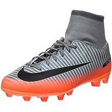 Nike Jr Mercurl Vcty 6 Cr7 Df Agpro Zapatillas, Niños, Gris, 37.5