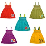 Eazy Trendz Cute Crunchy Baby Frocks Set of 5