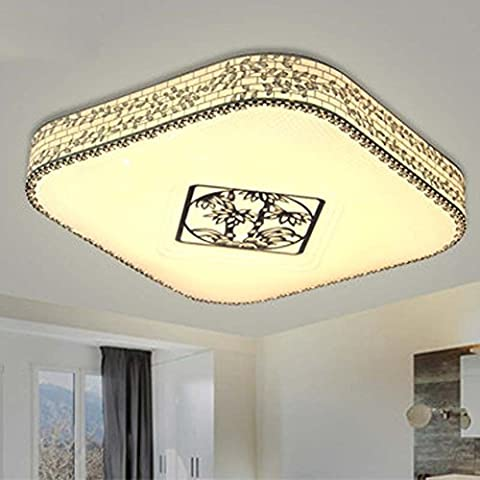 NHD-LED ceiling lamp stainless steel side bedroom lights color lamps in the room warm and beautiful , A