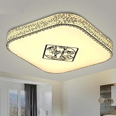 NHD-LED ceiling lamp stainless steel side bedroom