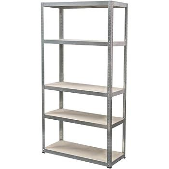 ironside 140022 steckregal holz metall 180 x 90 5 b den tragkraft 200 kg baumarkt. Black Bedroom Furniture Sets. Home Design Ideas
