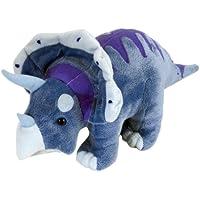 Wild Republic 15313 - Dinomites Plüsch Triceratops, 38 cm