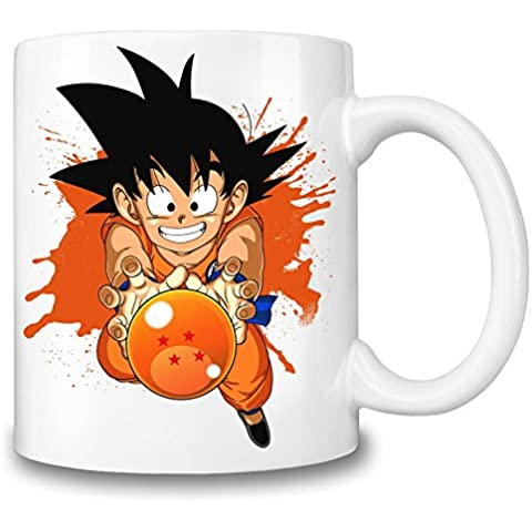 Kid Goku And Dragon Ball Taza