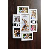 [Sponsored]FunkyTradition Designer White Love And Family Frames For 9 Photos For Home Office Decor And Anniversary Valentines Birthday Housewarming Gifts 53 Cm Tall