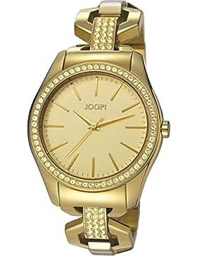 Joop! Damen-Armbanduhr KELLY Analog Quarz Edelstahl JP101532002