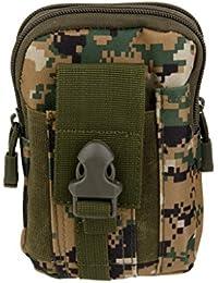 Anbau Outdoor Tactical Waist Bag For Camping Hiking - Digital Woodland