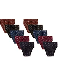aeed8525986a Rupa Jon Women's Aishwarya Cotton Printed Panties (Pack of 5) (Colours May  Vary