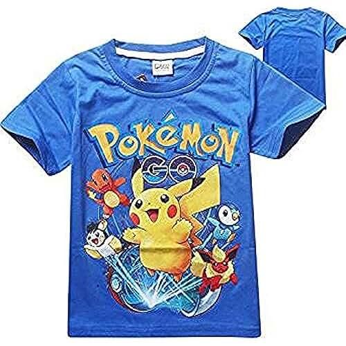 Pokemon Camiseta Azul 110 cm