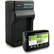 Cargador + Batería NP-FW50 para Sony NEX-C3 NEX-F3 DSC-RX10 NEX-3 NEX-5 NEX-6 NEX-7 Alpha 7 Alpha SLT-A33 SLT-35 SLT-A37 SLT-A55 Alpha 3000 5000 6000