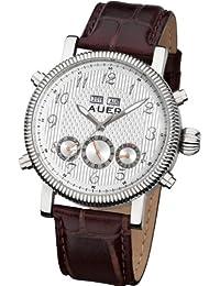 AUER Classic Collection BA-507-SlBrL Reloj Automático para hombres Diseño Clásico