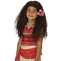 Princesas Disney - Peluca Vaiana, talla única (Rubie's Spain 33699)