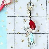 Sbarden My Hero Academia Animation Around Cartoon Acrylic Keychain Collectible Key Ring Bag Novelty Accessory Anime Cartoon Pendant Anime Fans Gift( H02)