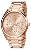 Esprit Damen-Armbanduhr Glandora Analog Quarz Edelstahl beschichtet ES106262011