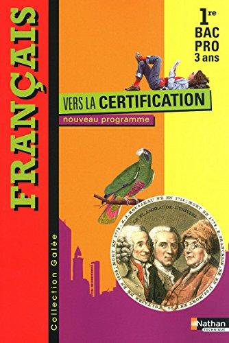 Français - Vers la certification