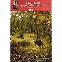 Rien Poortvliet großer Tierkalender 2019