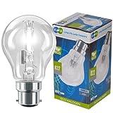 5 x 105w =150w Long Life XENON ECO Halogen GLS Energy Saving Light Bulb B22 Bayonet Cap Dimmable bulbs