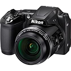 Nikon COOLPIX L840 Digital Camera with 38x Optical Zoom and Built-In Wi-Fi (Black) International Version