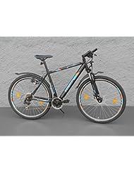 '29Zündapp bicicleta Cross, 21velocidades Shimano freno de disco negro
