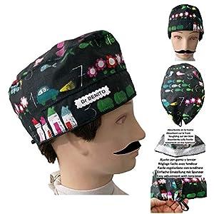 OP-Kappe Schiefer für kurzes Haar. Handtuch im vorderen Bereich, leicht abnehmbar und mit verstellbarem Spanner einsetzbar Personalisiert mit Namen in Optionen Handgefertigt