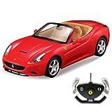 Ferrari California Cabrio - RC ferngesteuertes Lizenz-Fahrzeug im Original-Design, Modell-Maßstab 1:12, Ready-to-Drive, Auto inkl. Fernsteuerung, Neu