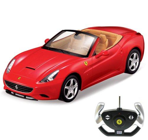 RC Auto kaufen Rennwagen Bild: Ferrari California Cabrio - RC ferngesteuertes Lizenz-Fahrzeug im Original-Design, Modell-Maßstab 1:12, Ready-to-Drive, Auto inkl. Fernsteuerung, Neu*