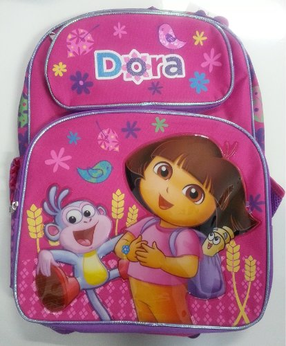 rucksack-dora-the-explorer-dora-boots-new-16-school-bag-madchen-634490