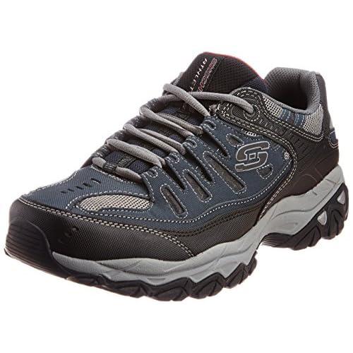 Skechers Afterburn Memory Foam Lace-up Sneaker, Men's Afterburn Memory Foam Lace-up Sneaker