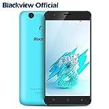 Blackview E7S Android 7.0 Dual SIM 3G Smartphone Ohne Vertrag, 5.5 Zoll IPS Touch Display, 2GB Ram + 16GB interner Speicher Handy mit 0.1s Fingerabdruck Sensor