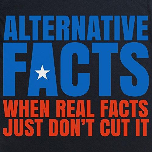 Alternative Facts Langarmshirt, Herren Schwarz
