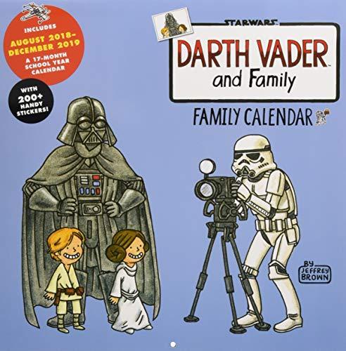 2019 Family Wall Calendar: Darth Vader and Family