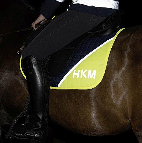 HKM 86326980.1188 Schabracke -Safety- DR, navy/neon gelb