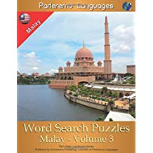 Parleremo Languages Word Search Puzzles Malay - Volume 3