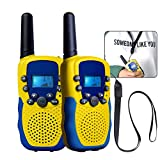 Best Niños Walkie Talkies - Walkie Talkie, kingtoys T-388 Niños al Aire Libre Review