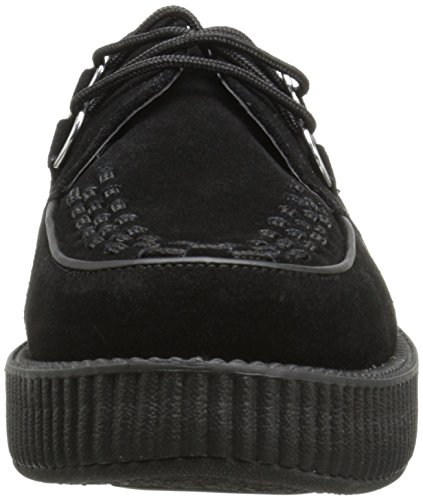 T.U.K. Low Sole Round Creeper V7270, Baskets Mode Mixte Adulte Noir (Black)