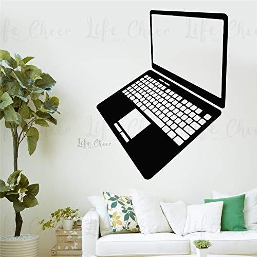 woyaofal Computadora Oficina Calcomanía de Pared Espacio de Trabajo Decoración Diseño portátil...
