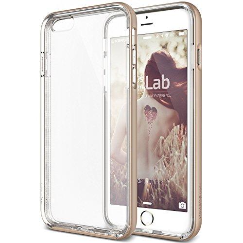 "iPhone 6s Schutzhülle, VERUS Crystal Bumper [Farben Gold] Shine Gold [Slim Fit] - Für Apple iPhone 6 / iPhone 6s 4.7"" Hülle Shine Gold"