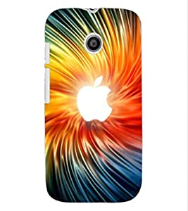 ColourCraft Creative Image Design Back Case Cover for MOTOROLA MOTO E