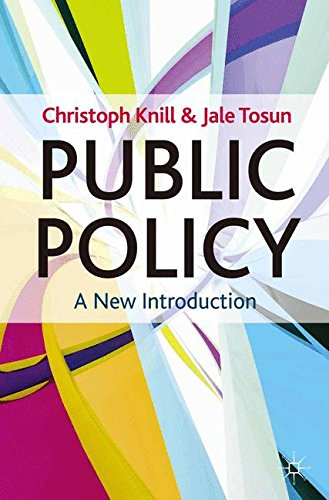 Public Policy: A New Introduction (Textbooks in Policy Studies)