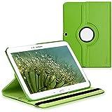 kwmobile Hülle 360° für > Samsung Galaxy Tab 3 10.1 < Case mit Ständer - Schutzhülle Tablet Tasche mit Standfunktion in Grün