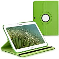 kwmobile Funda para Samsung Galaxy Tab 3 10.1 - Case de 360 grados de cuero sintético para tablet - Smart Cover completo y plegable para tableta en verde