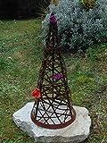 Edelrost Kegel 50 cm hoch Garten-Deko