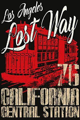 Postereck - Poster 2176 - Vintage Plakat, Los Angeles California Amerika USA Größe 4:3-40.0 cm x 30.0 cm