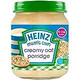 Propre crémeux avoine Porridge 4mois + de Heinz maman (de 120g) -