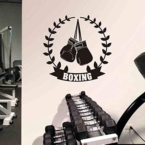 Dongwall Boxhandschuh Aufkleber Kick Boxer Spielen Auto Aufkleber Free Combat Poster Vinyl Striker Wandtattoos Parede Decor 58 * 58 cm (Boxhandschuhe Spielen)
